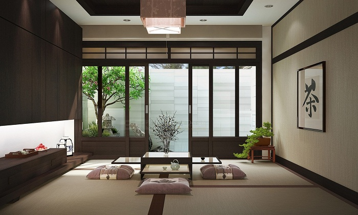Japanese style for living room