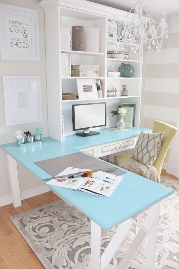 White desk inspiration