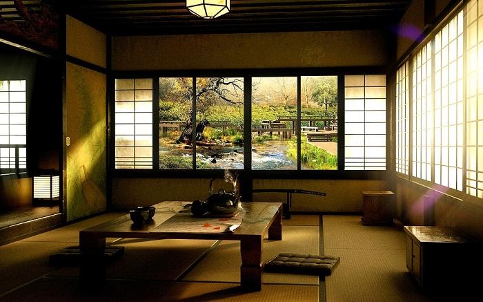 Oriental living room design