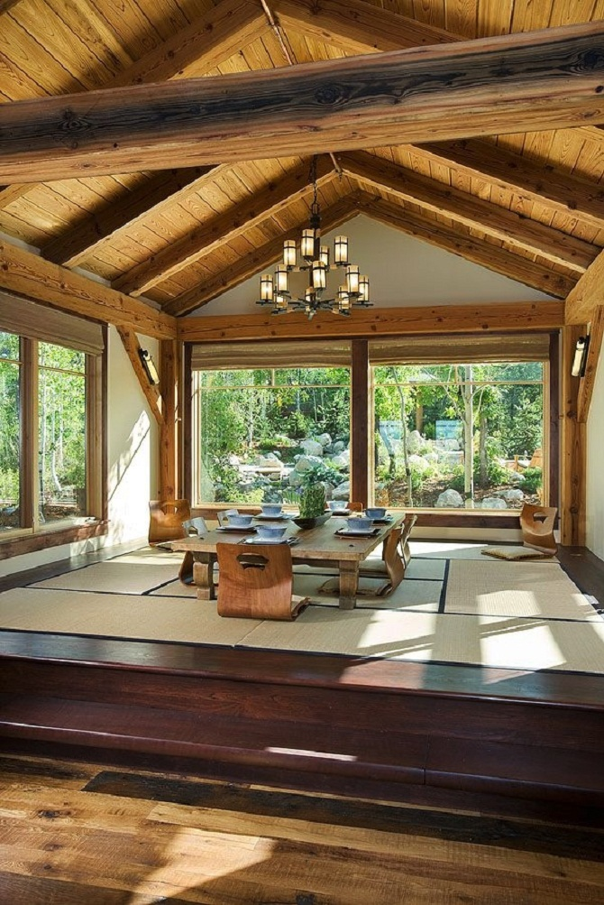 Luxury Asian style for livingroom