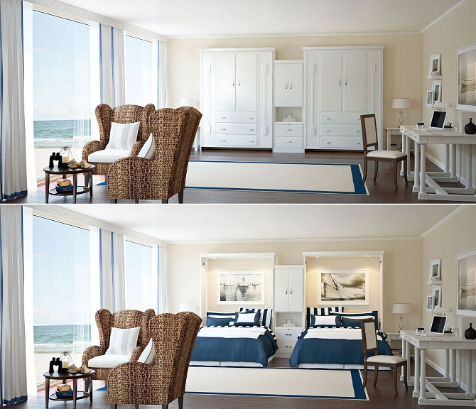 How to use pull down bed