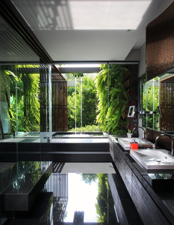 Nature inspiration for bathroom