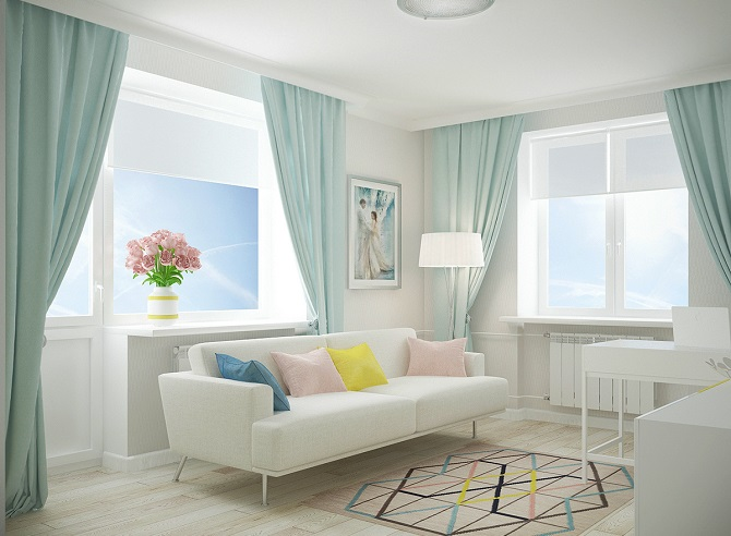 A Design For A Small Apartment