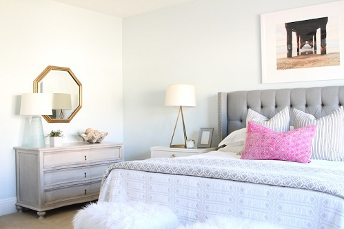 A Beautiful Soft Pattern Design For Bedroom