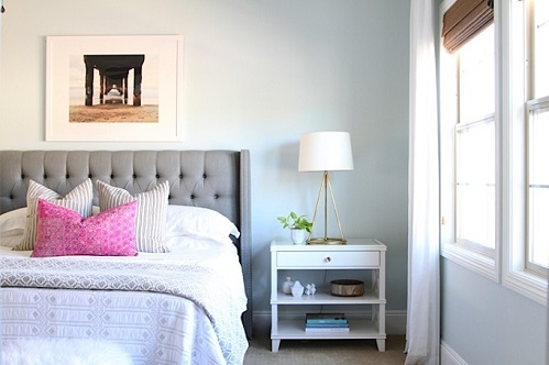 A Soft Pattern For Bedroom