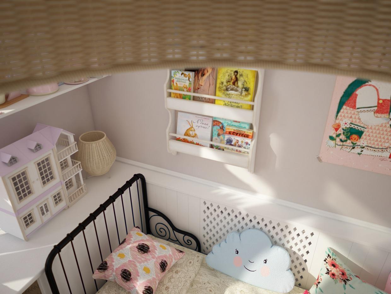 Cute bed frame for girls room