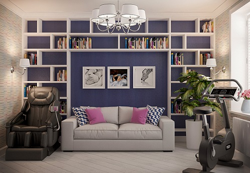 Blue Concept For Living Room