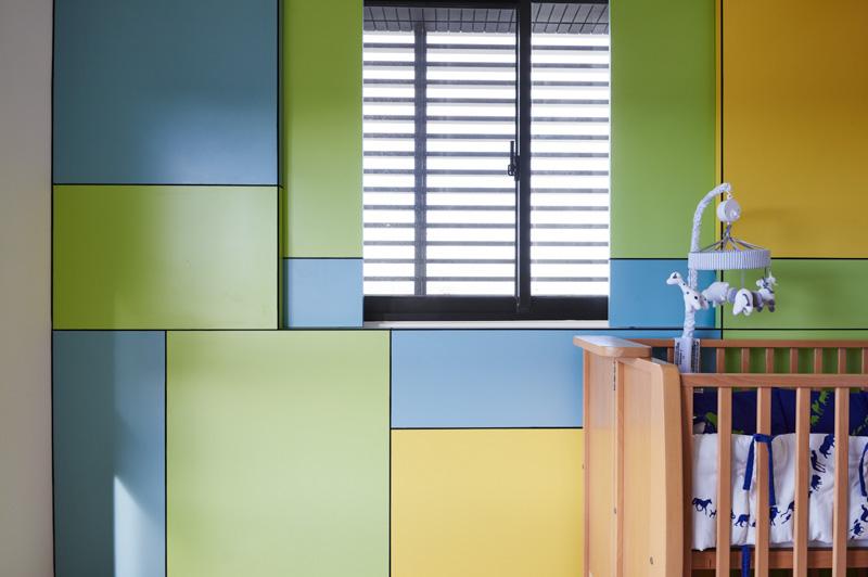 blue yellow green nursery- inspiration