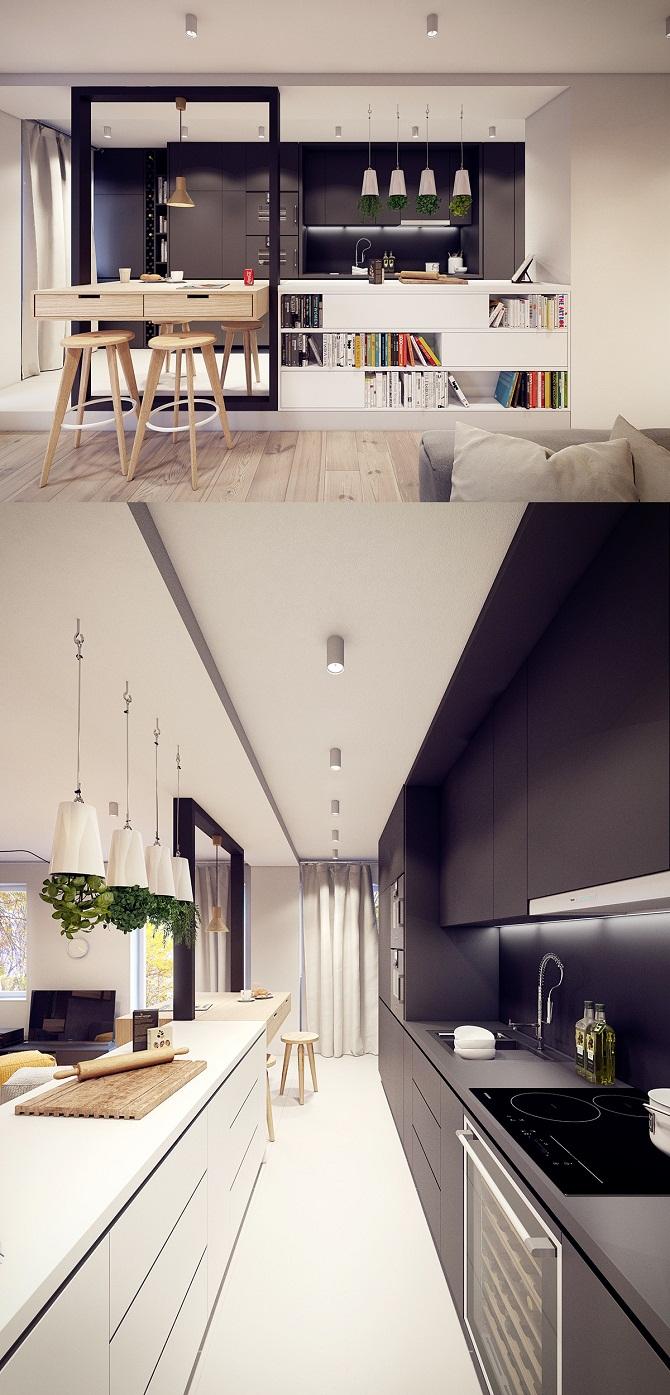 Luxurious Kitchen Bar Design