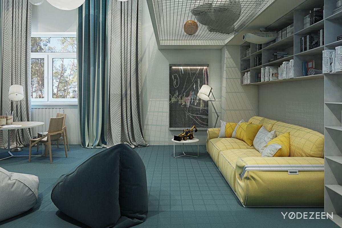 cozy sofa design