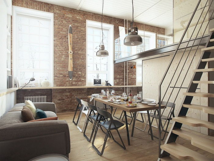 Creative apartment design