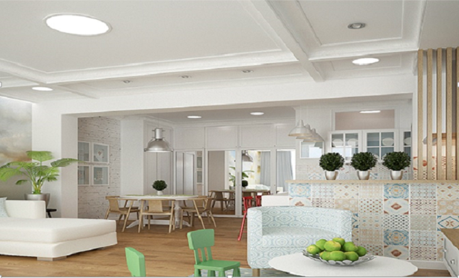 A Creative Concept For Kitchen Dining Room And Living All In One Space