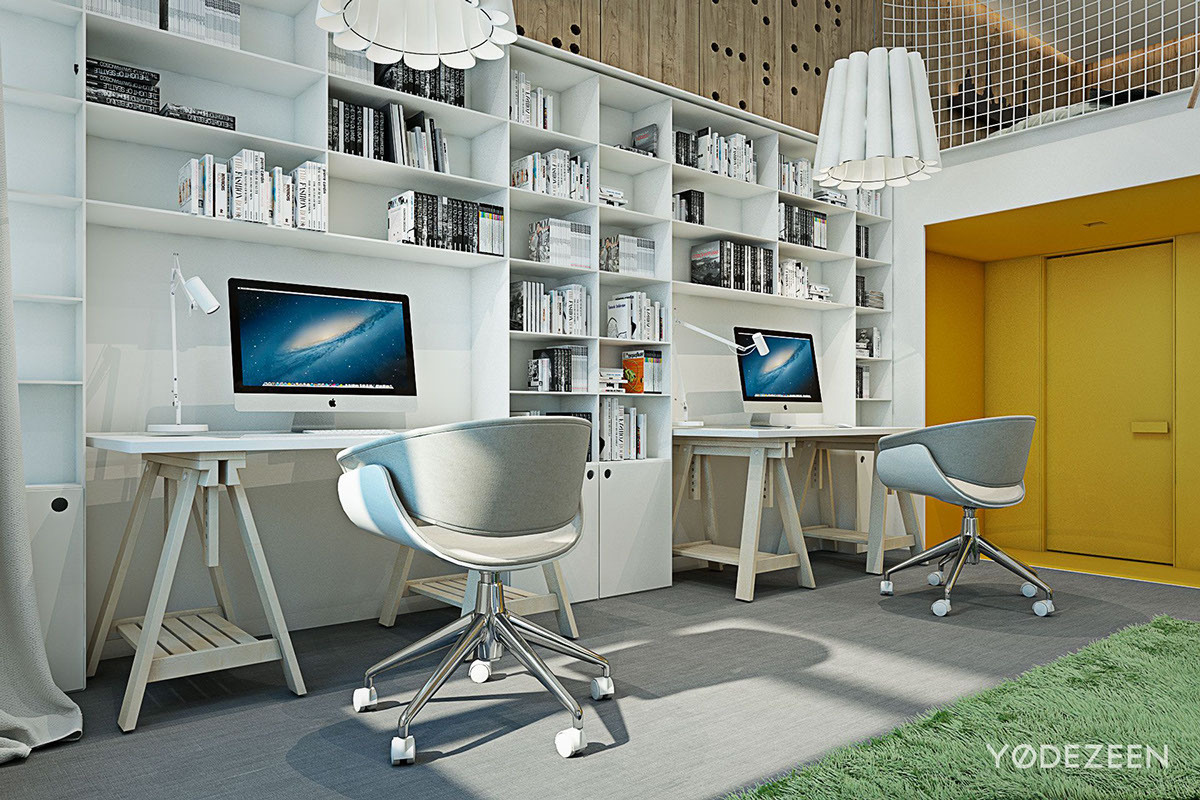 Creative work space for kids