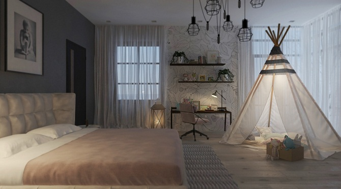 Enchanting Kids Bedroom