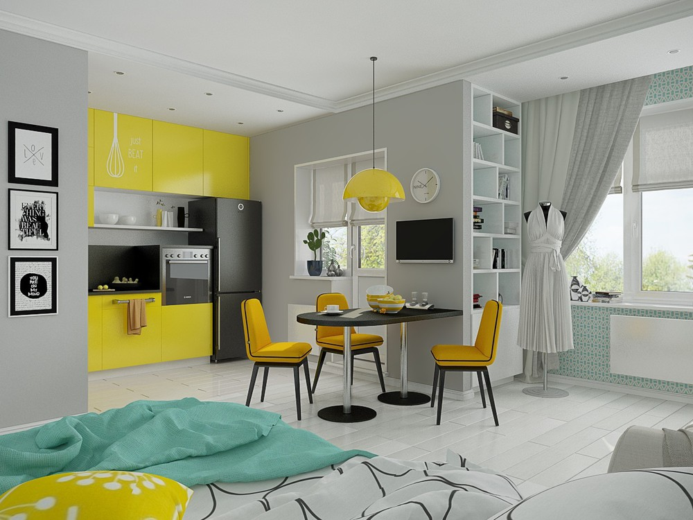 Girl's room with Pastel Color