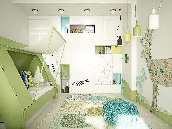 Imaginative Kids Bedroom