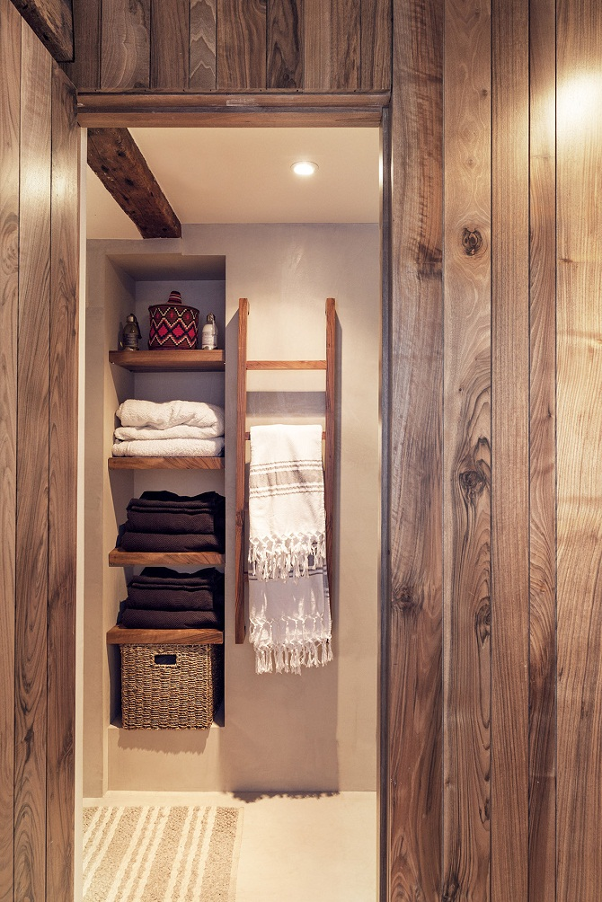closet shelving idea