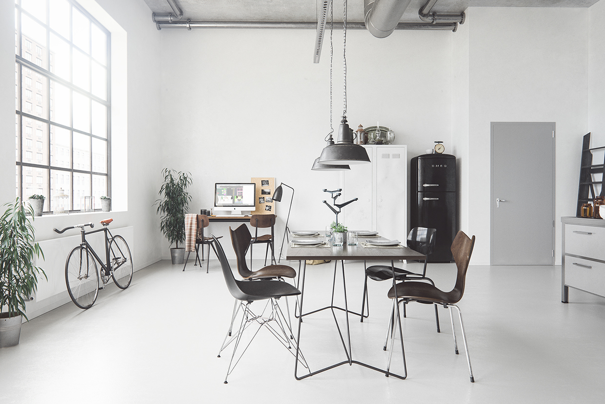 Applying scandinavian dining room designs completed with for Modern dining room accessories