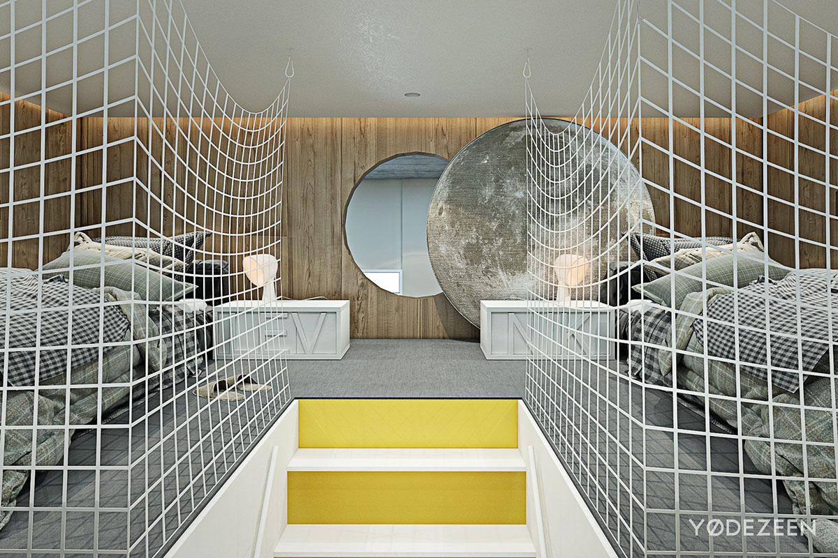 Unique bedroom design for kids
