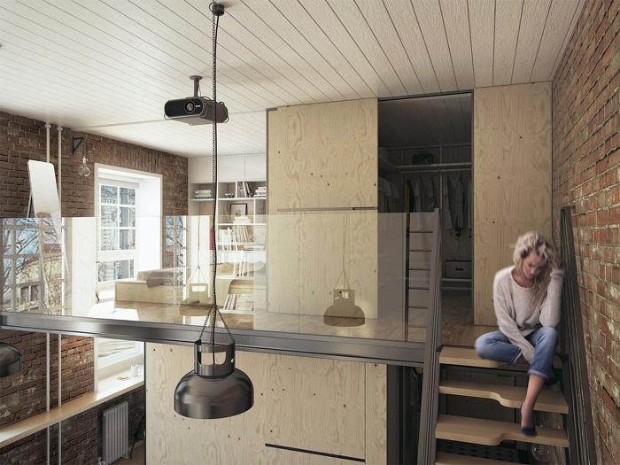 Minimalist design is perfect for minimalist apartment