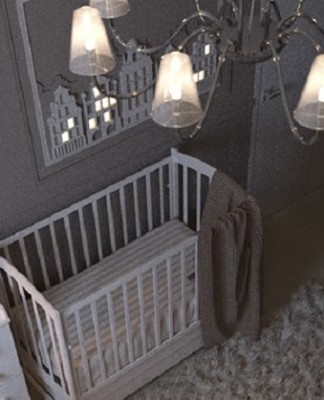 A Design Of Dark Shades For Childroom