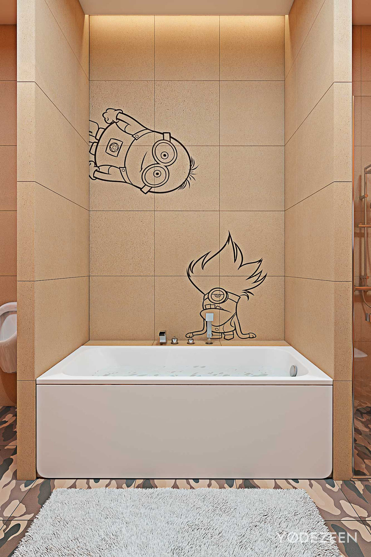Minion bathroom design