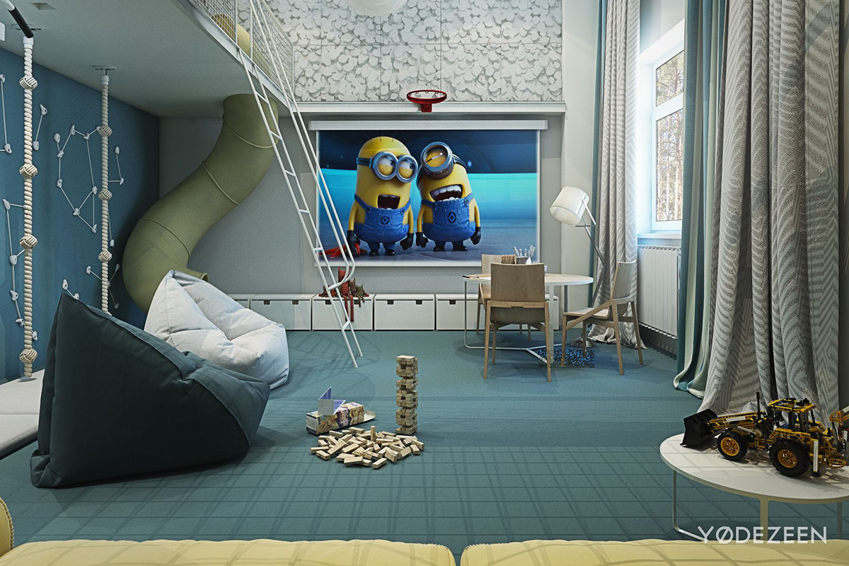 home interiors kids adorable apartment design for kids with lots of funny accents roohome designs plans 8609