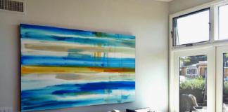 A Painting Desaign For Living Room By Erik Skoldberg