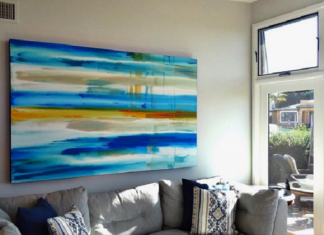 A Painting Desaign For Living Room By Erik Skoldberg