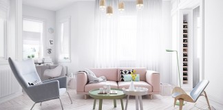 Scandinavian Style Design For Living Room