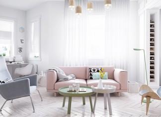 Scandinavian Style Design For Living Room