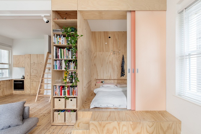 Creative Japanese bedroom design