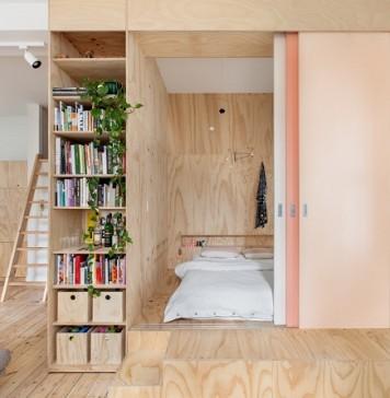 Traditional apartment design for apartment