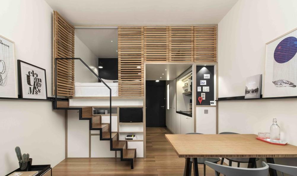 Super small apartment design