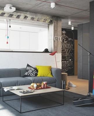 Apartment unique design