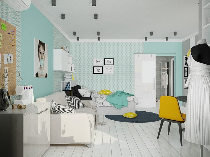 Girl's room decoration