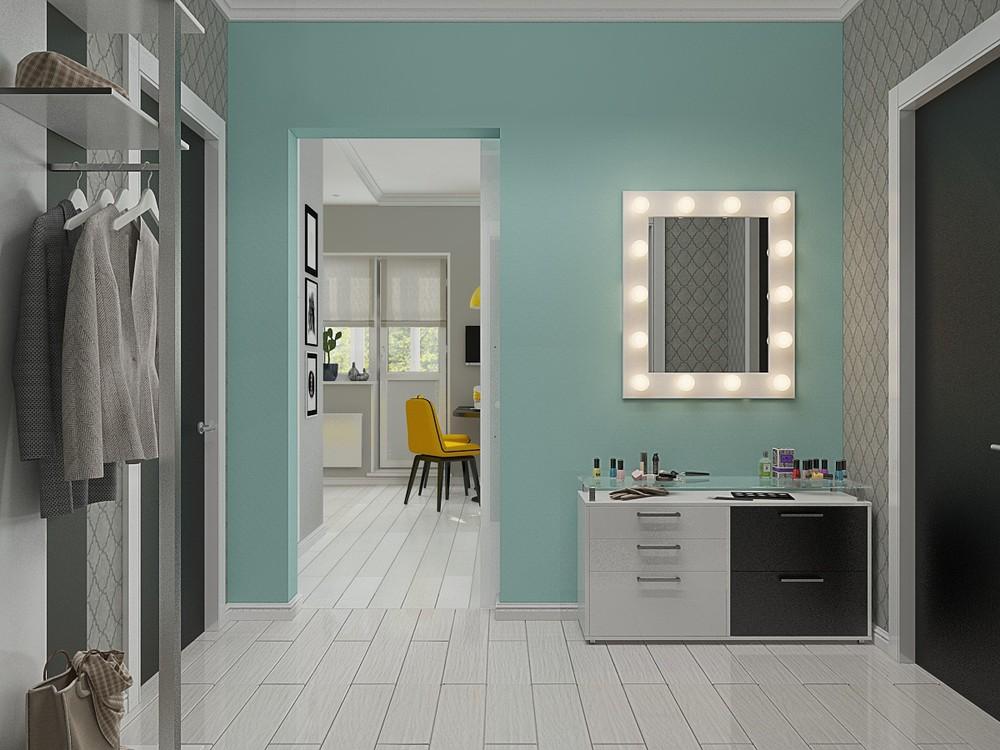 Vanity mirror design