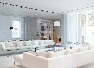Modern Interior For Living Room