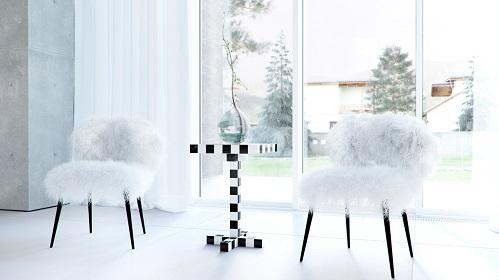 A Combination Between Modern Furniture And Modern Interior