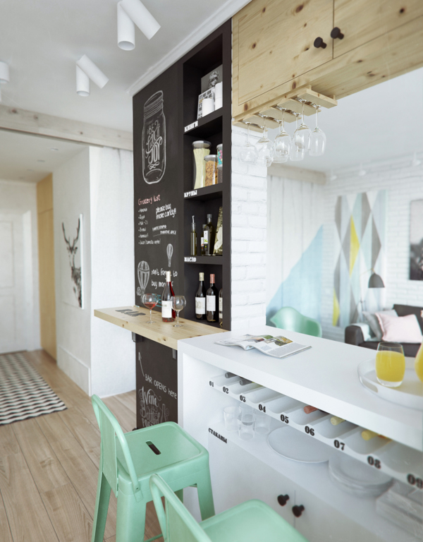 Awesome wall decoration for kitchen