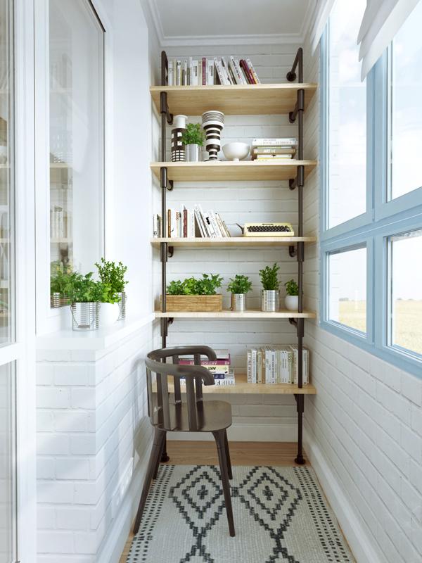 Small indoor garden design