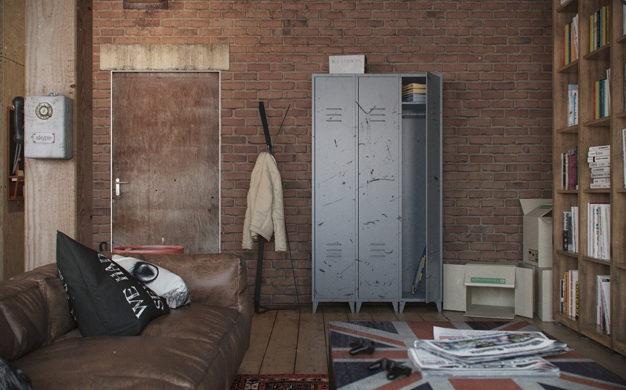 How to create Urban style for apartment