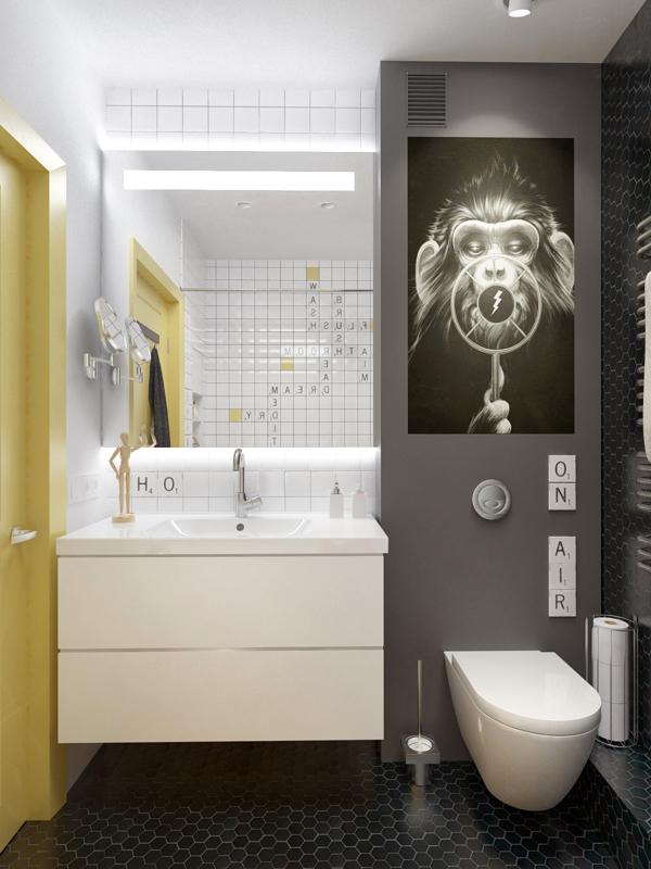 Unique Small bathroom design