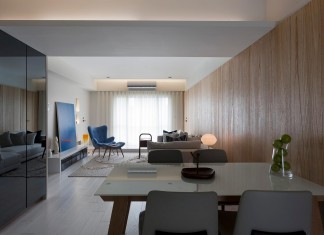 Minimalist apartment with Asian Style