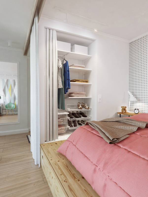 Bedroom design with beautiful detail