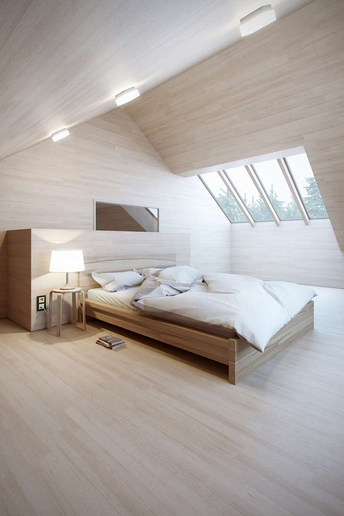 Natural concept for bedroom