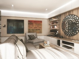 Classic design for living room