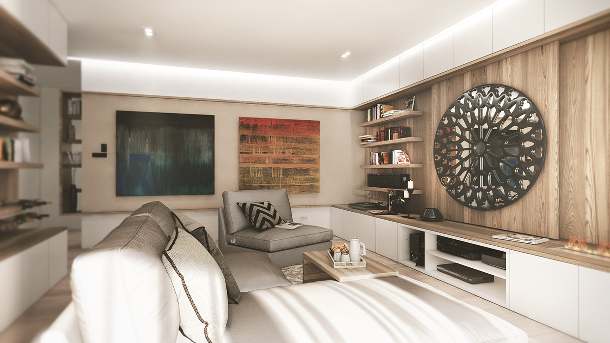 35 living room designs completed with steps to arrange for Artistic living room ideas