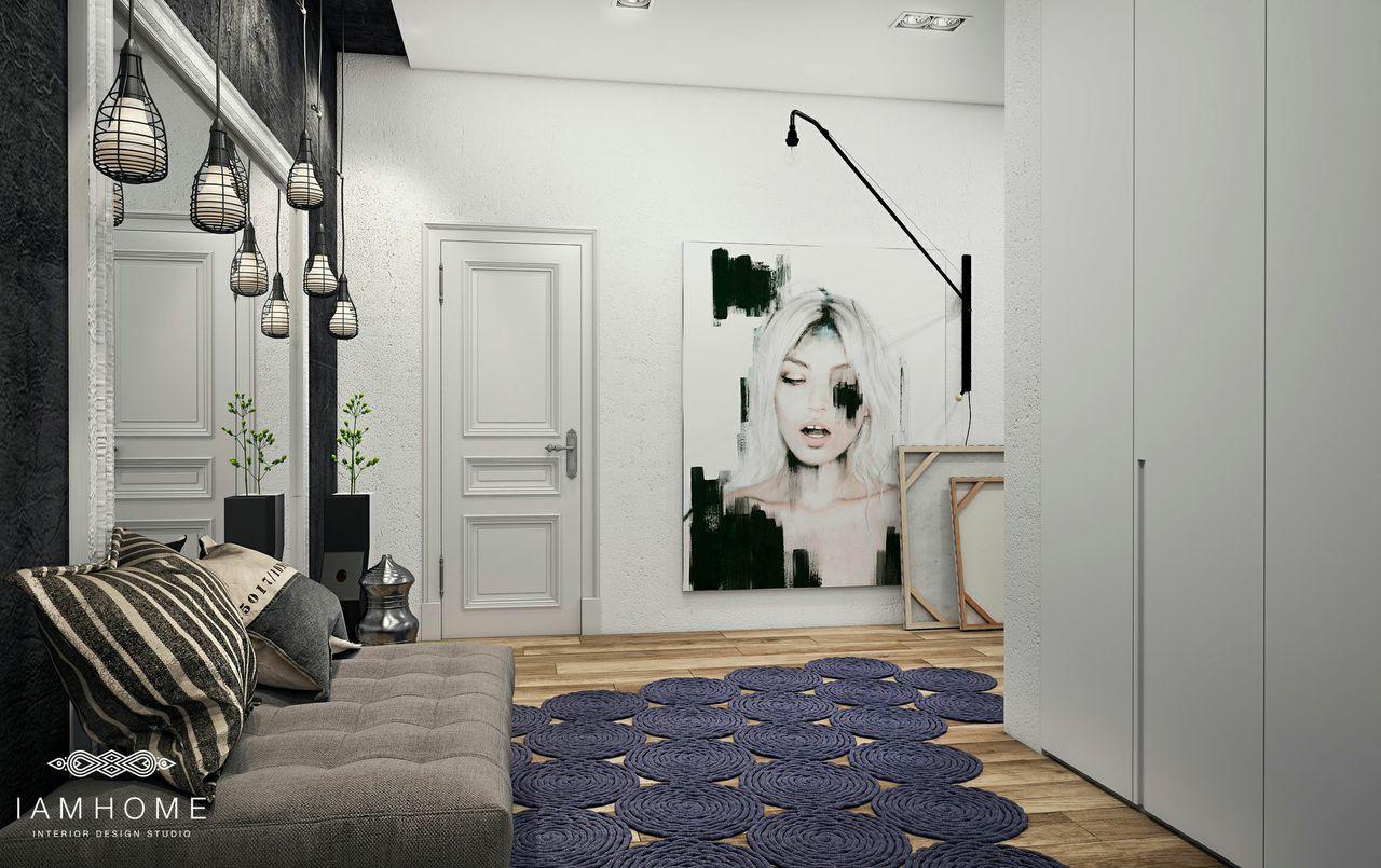 Artistic bedroom design