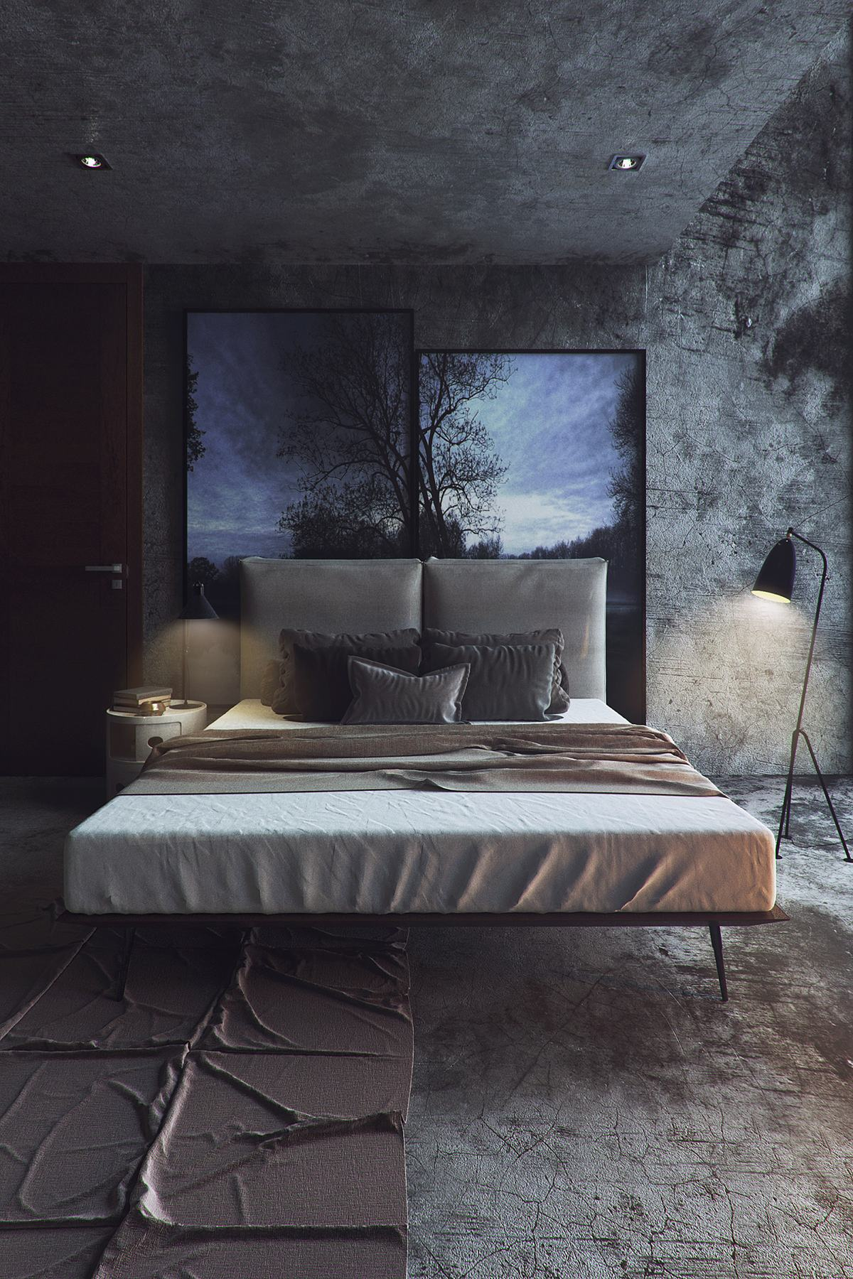 Stylish Bedroom Design For Couples That Would Make